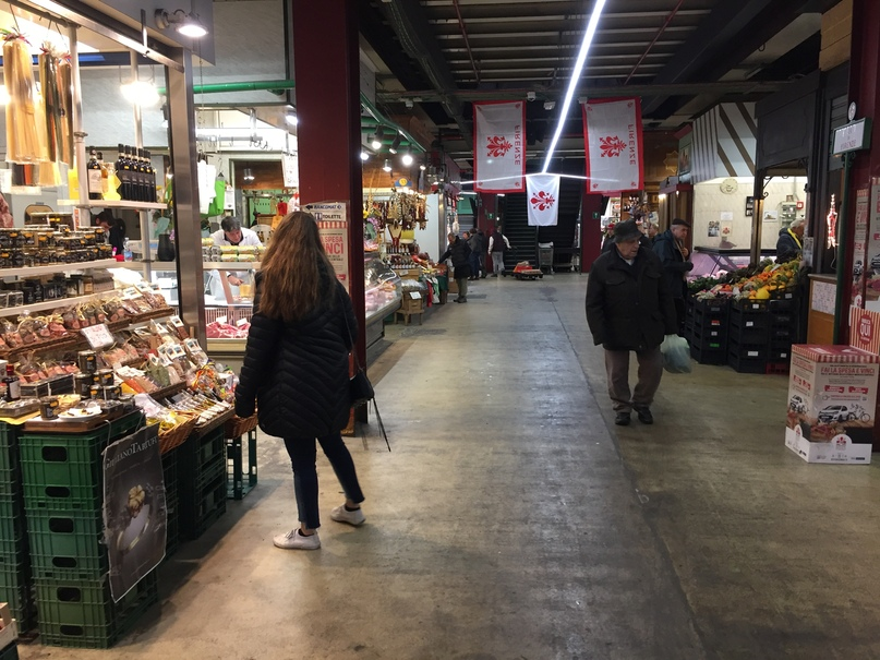 Приключения во Флоренции. рынок Mercato Centrale
