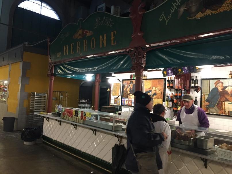 Приключения во Флоренции. закусочная Da Nerbone