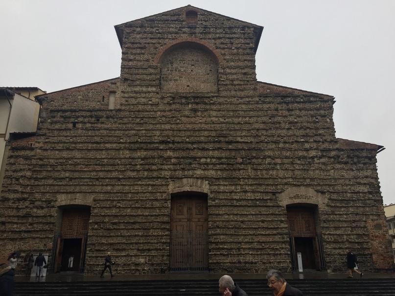 Приключения во Флоренции. Вход в Капеллу Медичи