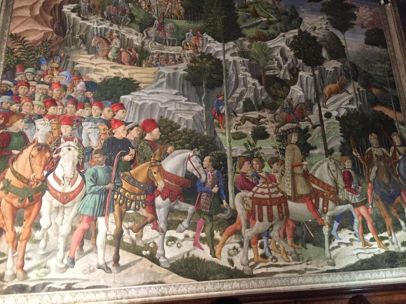 Приключения во Флоренции. Дворец Медичи