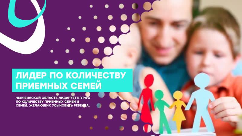 Сколько сирот обрели семью за три года в Челябинской области?