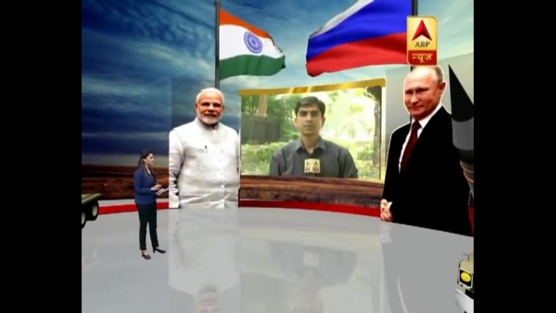 Narendra Modi-Vladimir Putin At Hyderabad House, Likely To Sign S-400 Defence Deal ABP News