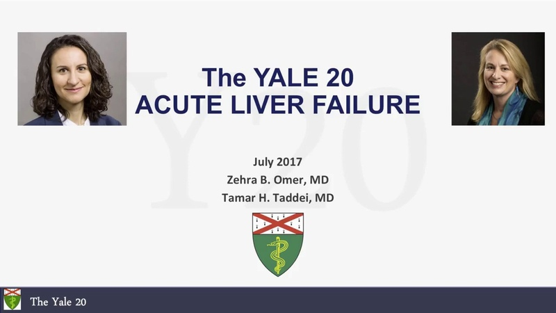 Yale20 - Acute Liver Failure (Part I)