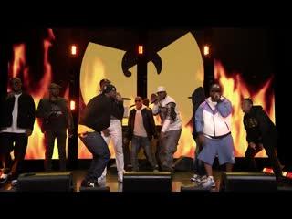 Выступление wu-tang clan с треком «triumph» на шоу джимми фэллона