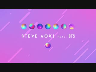 Steve aoki - waste it on me feat. bts (lyric video) [ultra music]