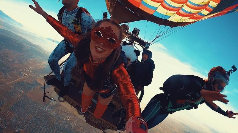 Skydive Perris: Halloween Hot Air Balloon Jump 2018