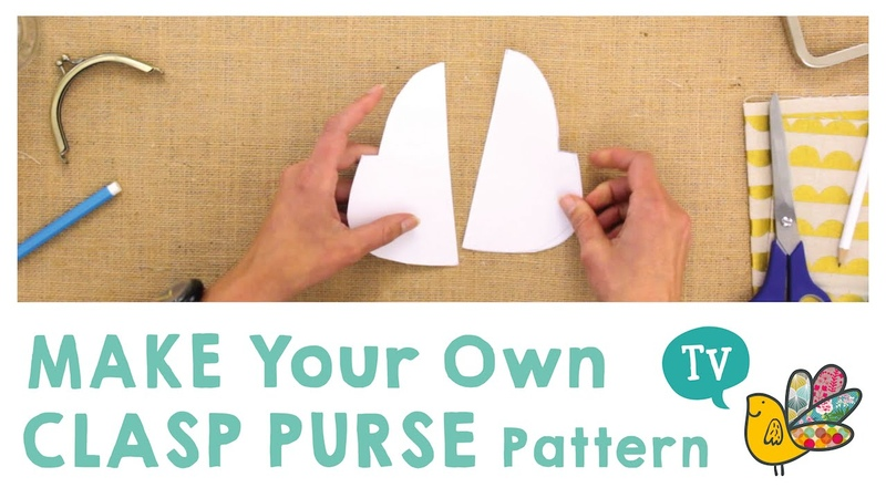 Make your own Clasp Purse Pattern