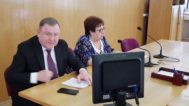 Евгений Жирков отчитался перед Советом депутатов Пушкинского района. 20.03.19