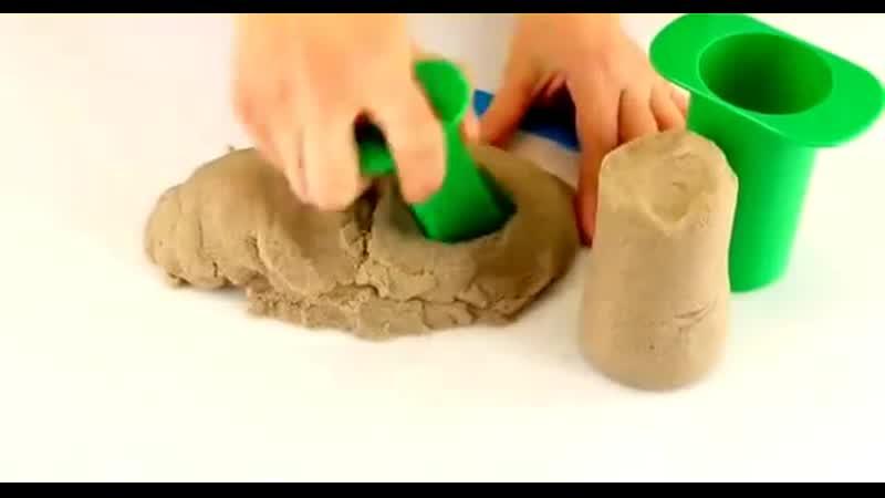 Кинетический песок Moving Sand