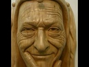 Wood Carving Preview Clip Nine Ian Norbury Facial Features