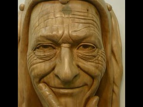Wood Carving - Preview Clip Nine - Ian Norbury - Facial Features