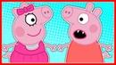 СВИНКА ПЕППА - Мультик для детей - Киндер сюрпризы - Раскраска - Учим цвета - Peppa Pig