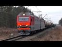 Подмигнул. 2ЭС6-129 Синара с грузовым поездом и приветливой бригадой