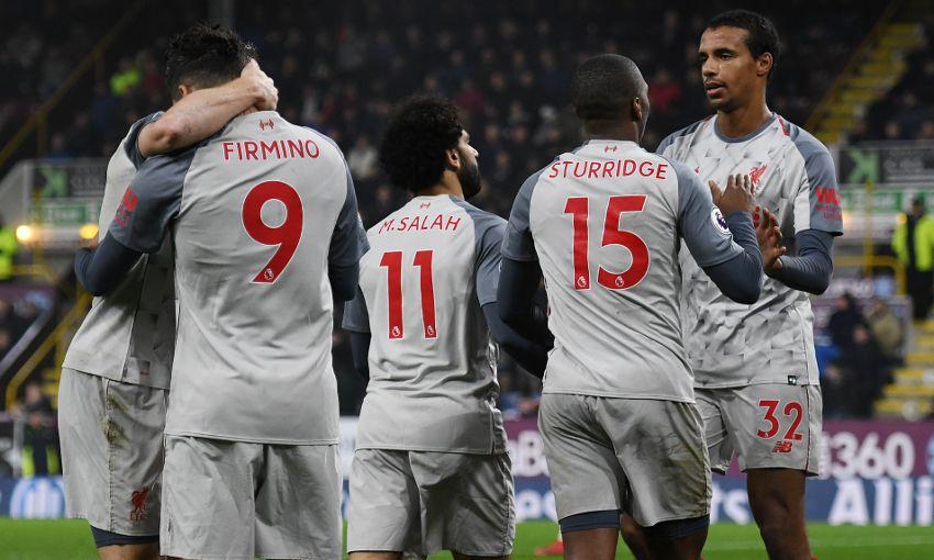 """Видео: """"Бернли"""" - 1:3 - """"Ливерпуль"""". Лучший гол и игрока матча."""