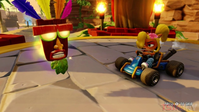 Crash Team Racing Nitro Fueled - Walkthrough - Part 1 | Switch