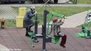 GrandMothers Gym Бабушки исполняют на тренажерах