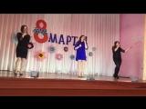 Виолетта Клюенкова, Юлия Лебедева и Яна Волкова -