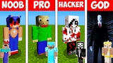 Minecraft Battle NOOB vs PRO vs HACKER vs GOD - SCARY HORROR in Minecraft Animation