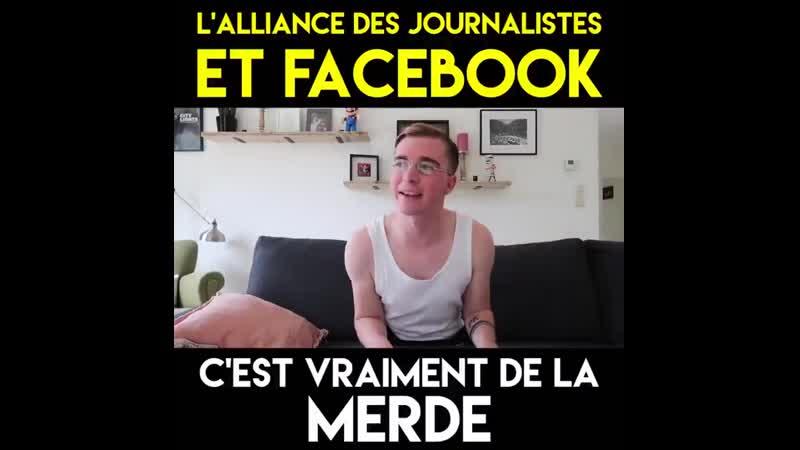 ER National - Lalliance du journalisme et Facebook ça donne quoi La réponse en vidéo Congruence Facebook paie des journal