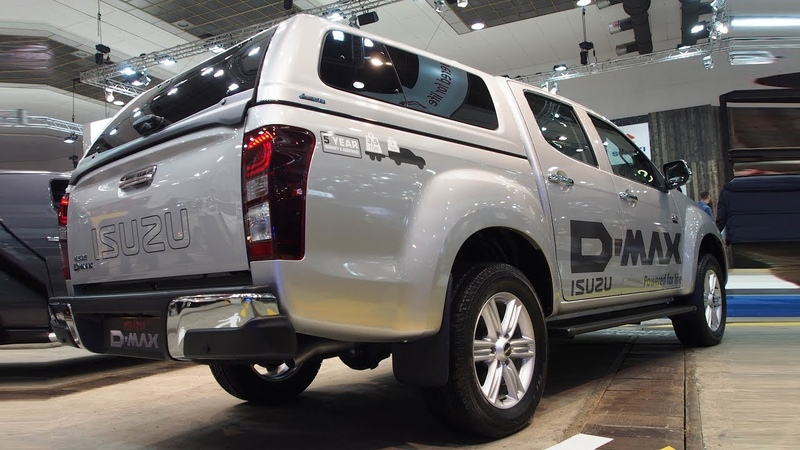 Isuzu D-Max Double Cabine 1.9 LS 4WD Experience 6MT - Exterior and Interior Lookaround