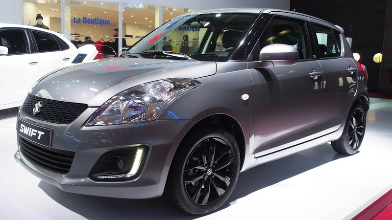 Suzuki Swift in the city Special series 1 2 VVT 5 doors Exterior and Interior Lookaround