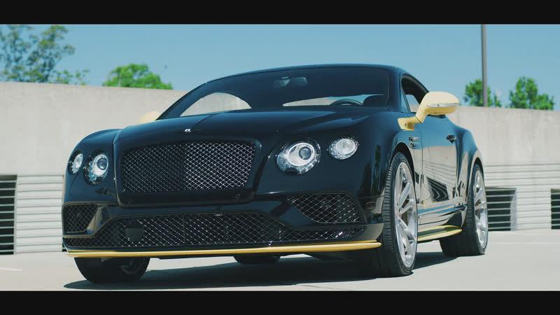 Bentley GT Speed Black Edition