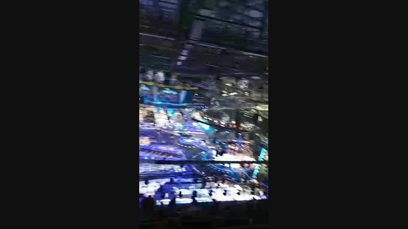 Минск Арена перед стартом Евровидения