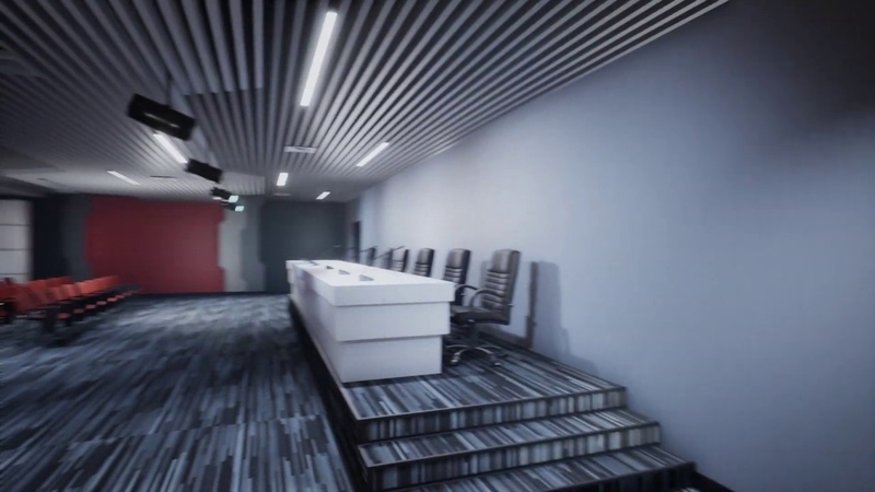CONFERENCE HALL - REALTIME RENDER - UNREAL ENGINE 4