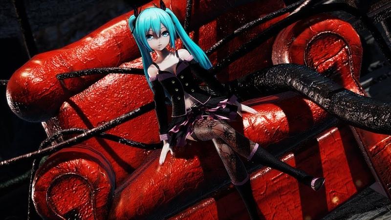 【MMD】Sweet Devil┃4K