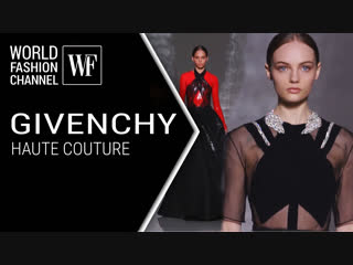 Givenchy haute couture, olivier theyskens, christopher kane в прямом эфире