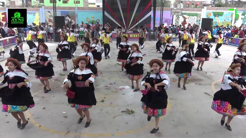 Huaylarsh de carnaval Perú tradición y costumbre PTC Qory Wayna 2017
