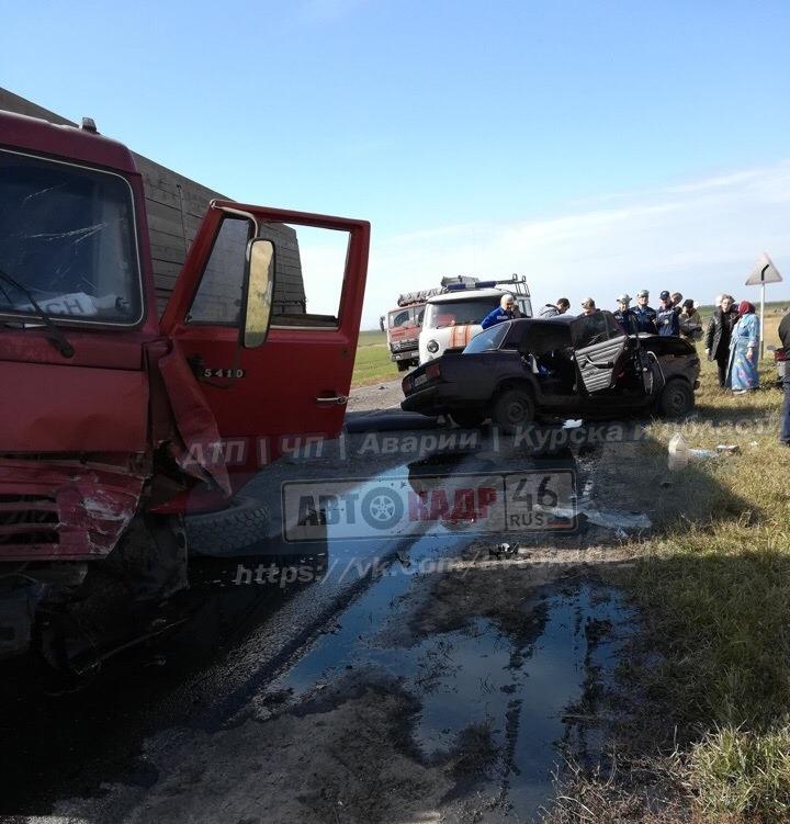 Один человек погиб, еще трое пострадали в ДТП под Курском