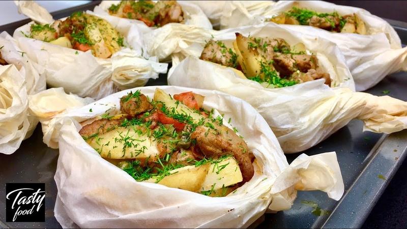 Как Просто Вкусно и Красиво Запечь Картошку в Духовке