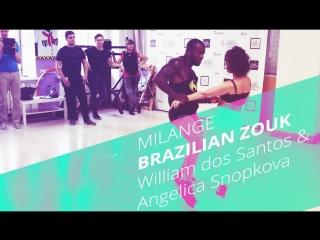 💚William and Angelica| Brazilian Zouk Demo 2