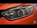 Renault Kaptur. Оклейка пленкой Оранжевый матовый хром .
