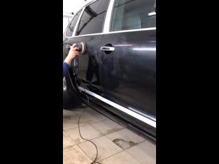 Полировка Porsche Cayenne Turbo TechArt Magnum