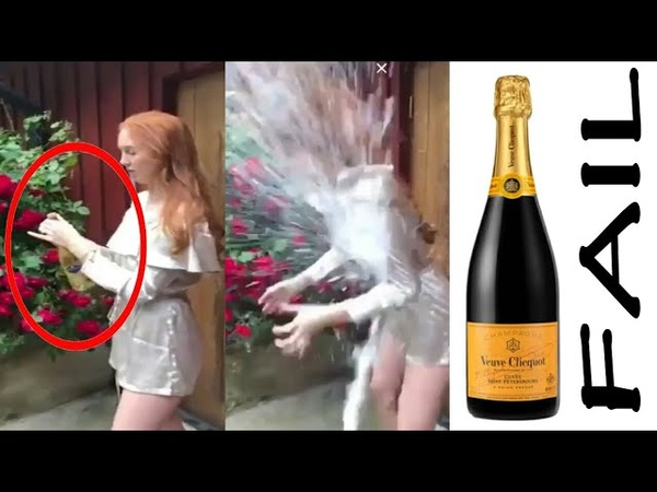 Champagne Bottle Opening Fail Compilation