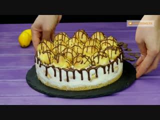 Должен быть в списке ваших любимых десертов! Нежный и вкусный торт Эклер!