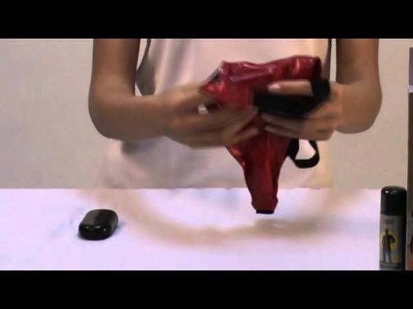 Ruby thong демонстрация трусиков с вибрацией