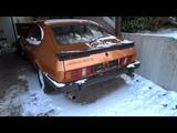1981 Ford Capri 2.3 V6 cold start in winter