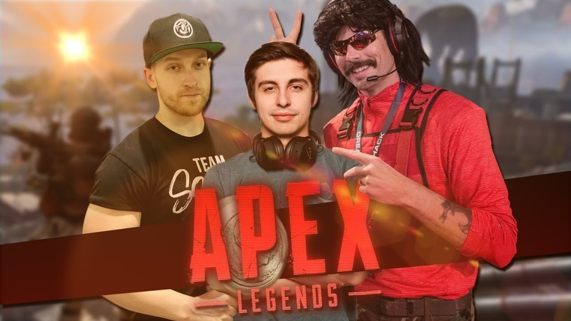 Shroud being Cocky | Apex Squads with Shroud, Viss DrDisrespect