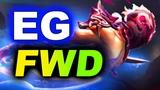EG vs FORWARD - NORTH AMERICA TOP 2 - CHONGQING MAJOR DOTA 2