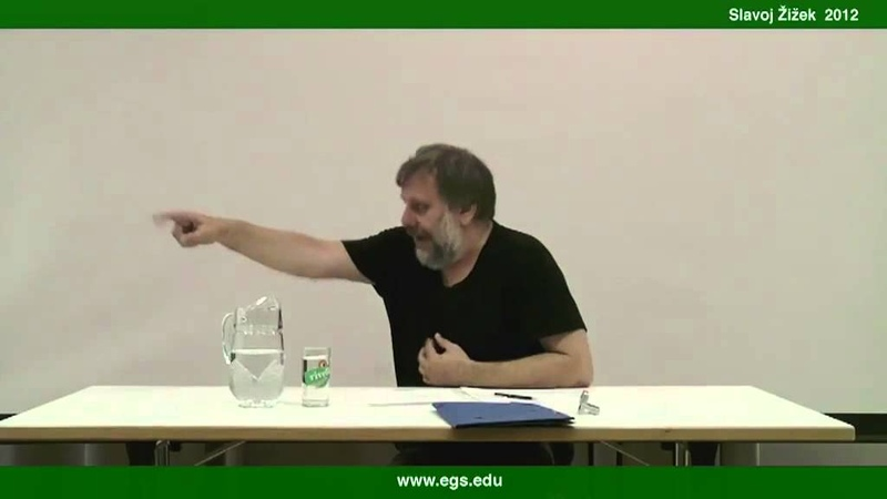 Slavoj Žižek Object a and The Function of Ideology 2012