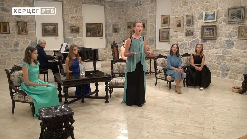 U Muzeju Hercegovine održan koncert polaznika škole za solo pjevanje (25.08.2018.)