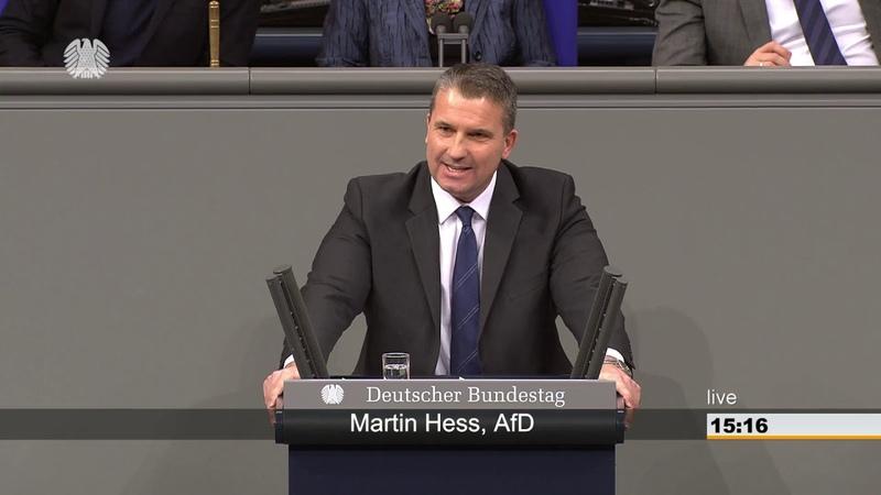 Martin Hess AFD: Sie korrigieren immer noch nicht den Kardinalfehler, die offenen Grenzen!