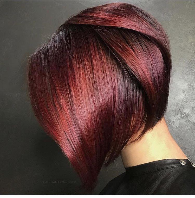 Цвет волос Глинтвейн 2019-2020: как покраситься, кому идет