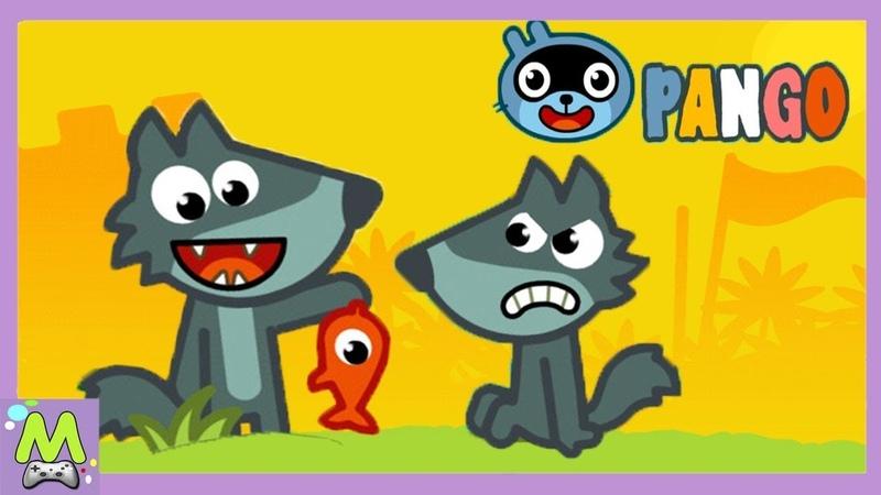 Истории Панго Pango Storytime Мульт Игра для Малышей Новые Смешные Истории про Животных