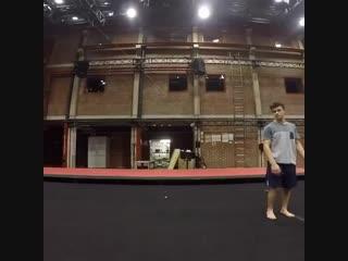 нестандартная акробатика