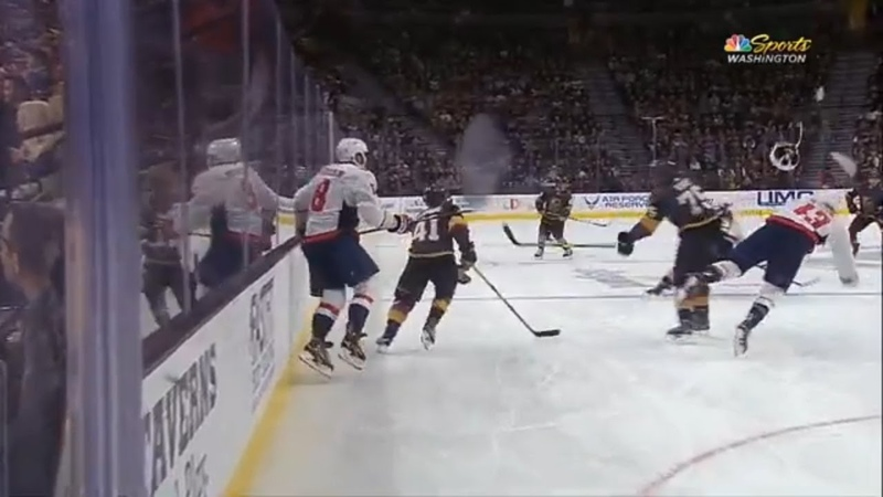Wilson injured on hit by Ryan Reaves