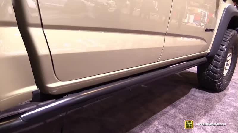 2018 Chevrolet Colorado American Expedition Vehicles Exterior Walkaround 2017 SEMA Las Vegas
